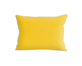 Poszewka satynowa Sophia żółta 70x80 – jednobarwna