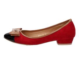 -68% Czerwone baleriny damskie Vices X421-19