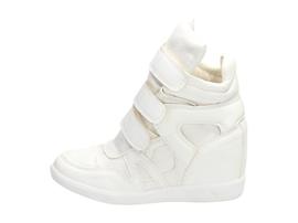 Białe buty damskie, sneakersy VICES 1409-41