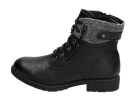 Czarne botki, trapery damskie WISHOT BT162