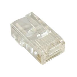 Telefoniczny wtyk modularny 8p8c na okrągły przewód (drut)