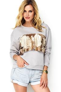 Bluza z cekinami mk489