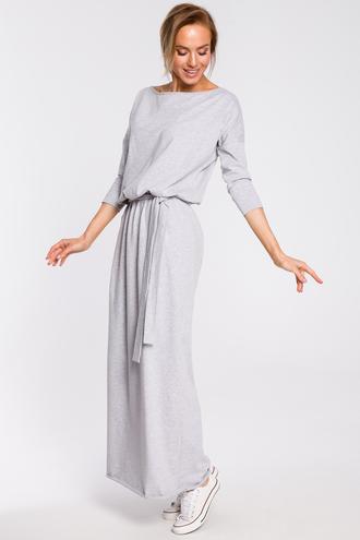 Sukienka bawełniana maxi moe435