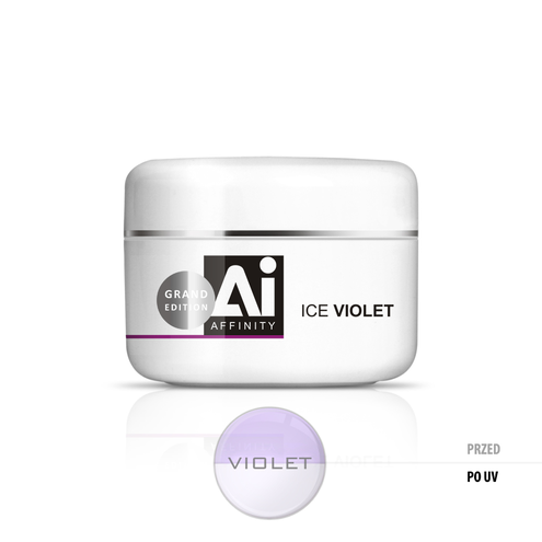 Affinity Ice Żel UV Violet 100 g