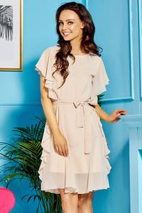 Sukienka z falbankami l303