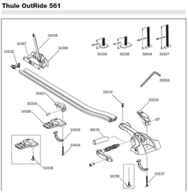 Schemat Thule Outride 561