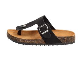 Czarne komfortowe japonki, buty VINCEZA 8917