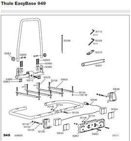 Schemat Thule Easybike 949