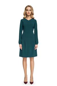 Sukienka z obniżoną linią talii s076
