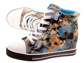 -50% Wiosenne sneakersy trampki damskie 628 BL