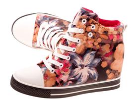 -50% Wiosenne sneakersy trampki damskie 628 PN