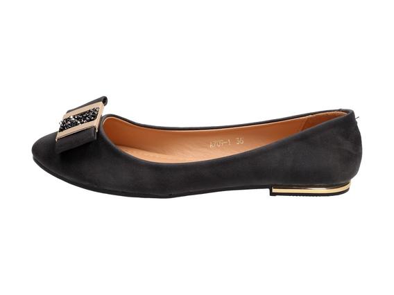 Baleriny, buty damskie VICES 709-1 BK