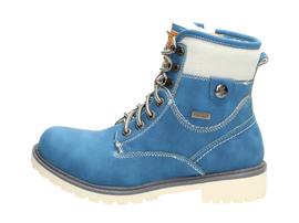 Niebieskie trapery damskie WISHOT 31-974