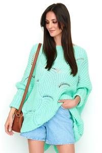 Sweter ponczo oversize ns51
