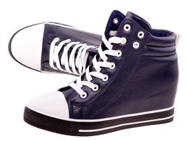 Wiosenne sneakersy trampki damskie 627 NV