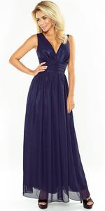 Sukienka NUMOCO 166-1 GRANATOWA