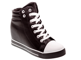 Wiosenne sneakersy trampki damskie 627 BK