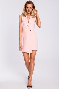 Sukienka żakietowa bez rękawów moe439