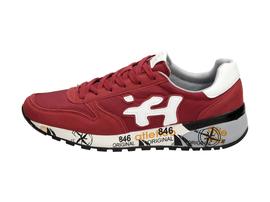 Czerwone buty męskie sportowe ATLETICO 8009