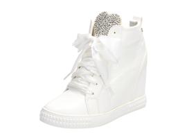 Białe buty damskie, sneakersy VICES 7194-41