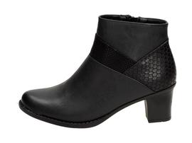 Czarne botki, buty damskie WISHOT BT943