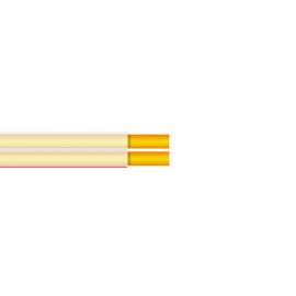 Kabel głośnikowy płaski przeźroczysty HiFi 2 żyły miedziane (grubość żył 2 x 1.50 mm2)