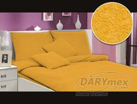 Pościel frotte Terry żółta 200x220