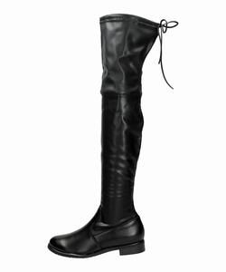 Czarne kozaki za kolano VICES T060-1A