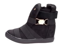 Czarne sneakersy buty damskie VICES 1066-1