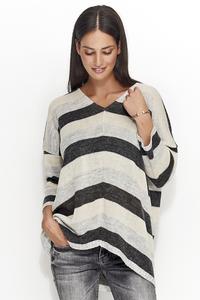 Sweterek trójkolorowy ns24
