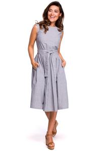 Sukienka prążkowana s162