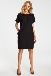 Luźna klasyczna sukienka moe337