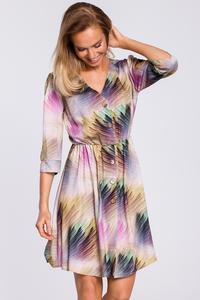 Sukienka odcinana w pasie moe440