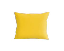 Poszewka satynowa Sophia żółta 50x60 – jednokolorowa