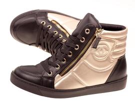 Wiosenne sneakersy trampki damskie 613BK/G