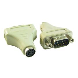Adapter wtyk D-SUB 9 na gniazdo miniDIN6 (PS2)