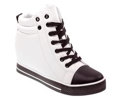 Wiosenne sneakersy trampki damskie 627 WT