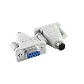 Adapter gniazdo D-SUB 9 na wtyk miniDIN6 (PS2)