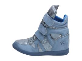 Niebieskie buty damskie, sneakersy VICES 1409