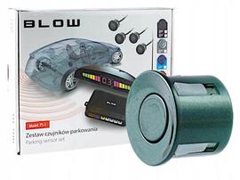 Samochodowych zestaw czujników parkowania 22 mm - kolor zielony