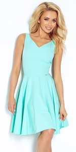 Sukienka NUMOCO 114-1 - mięta