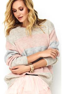Kolorowy sweter mk-s86