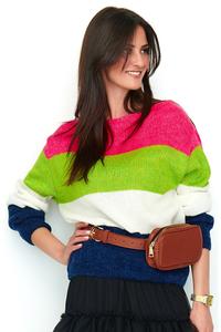 Sweterek w pasy ns52