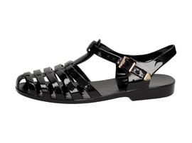 Czarne sandały damskie, meliski VICES PT36-1
