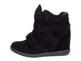 Czarne sneakersy, buty damskie VICES 6039-1